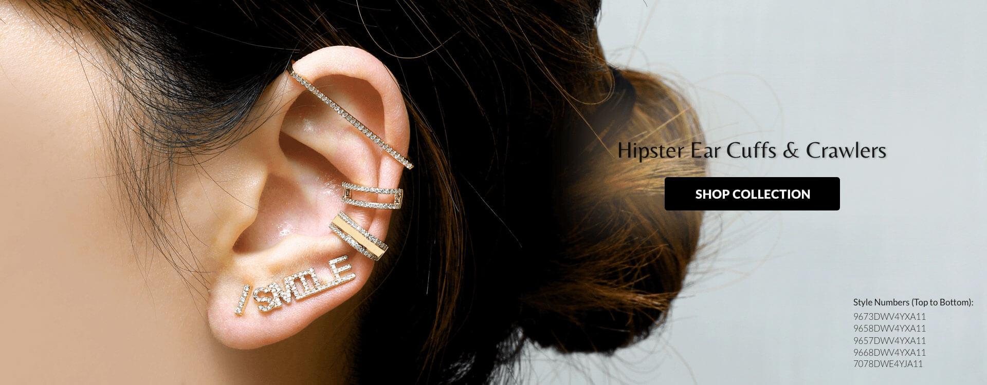HIpster Ear Cuff & Crawlers